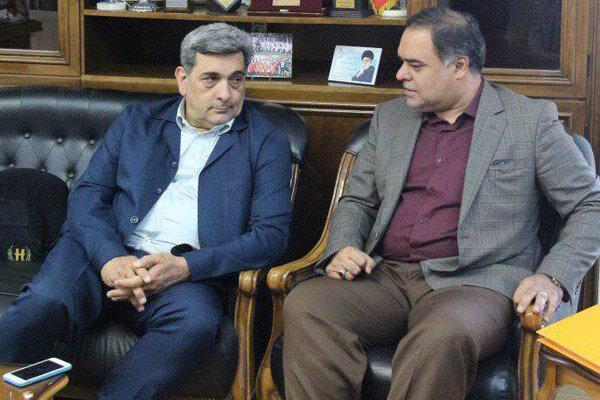 شهردار تهران از سازمان ورزش بازدید کرد