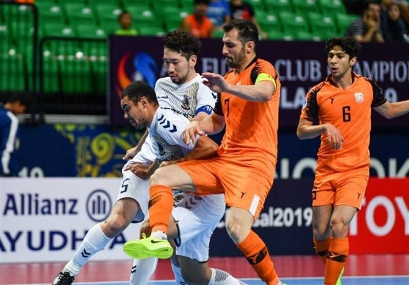 فوتسال قهرمانی باشگاه های آسیا، مس سونگون با شکست برابر پرافتخارترین تیم مسابقات، حریف نماینده لبنان شد