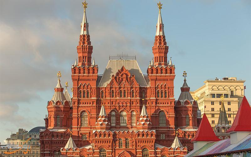 به تماشای تاریخ روسیه در موزه ملی تاریخ این کشور بروید