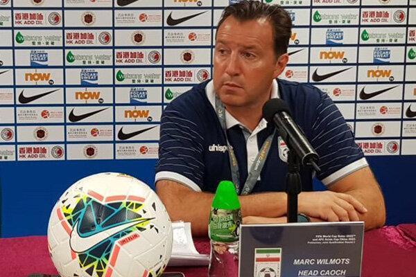 ویلموتس: می خواهیم فوتبال بازی کنیم و ببریم، همه اشتباه می نمایند