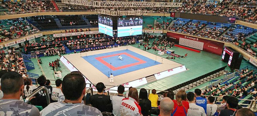 نایب قهرمانی تیم کاراته ایران در پنجمین مرحله لیگ جهانی