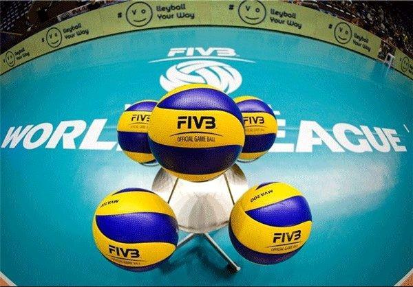 برنامه دیدارهای مرحله نهایی لیگ جهانی والیبال اعلام شد