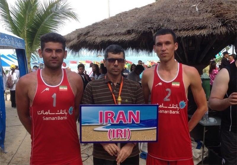 نماینده ایران قهرمان تور والیبال ساحلی آسیا و اقیانوسیه شد