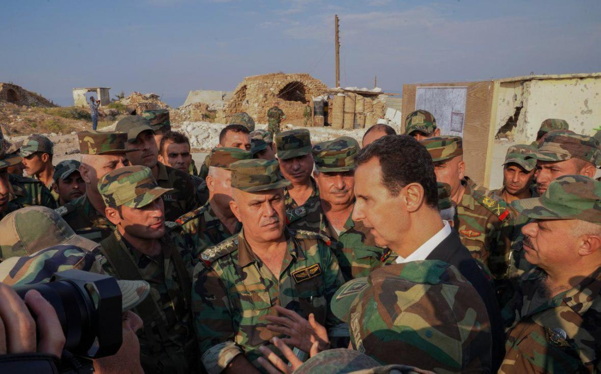 بشار اسد: اردوغان سارق است