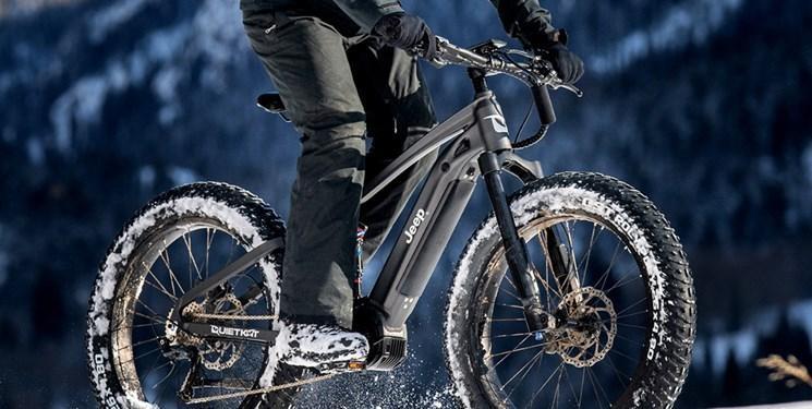 عرضه دوچرخه برقی بیراهه نوردی جیپ