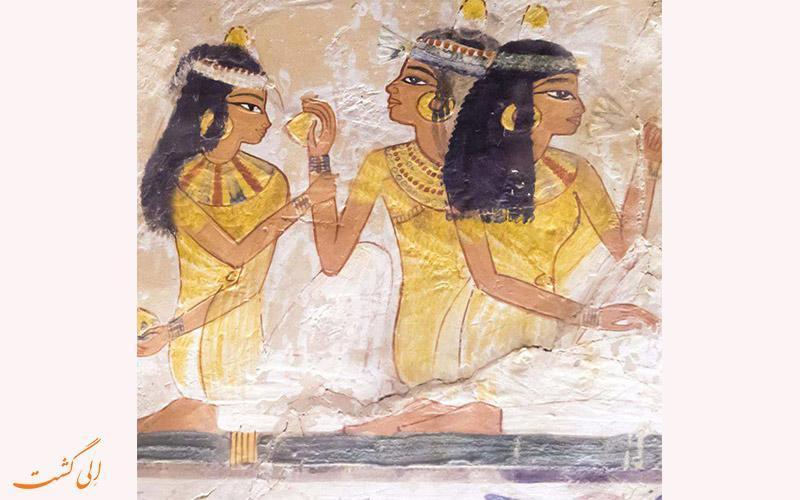 مشاغل عجیب زنان در مصر باستان!