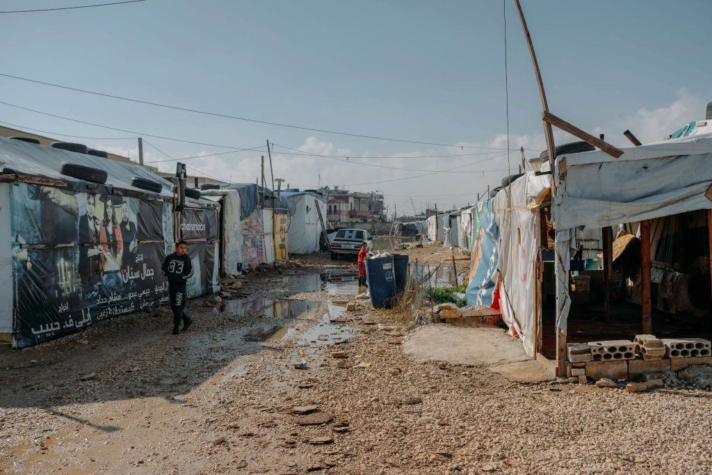 خبرنگاران دیدبان حقوق بشر خواهان لغو تخریب اردوگاه پناهجویان سوری در لبنان شد