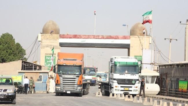 در روز اربعین کالاهای تجاری ایران در مرزهای عراقی پذیرش نمی شوند