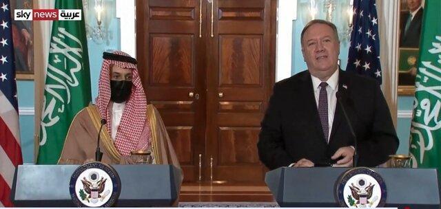 پمپئو باز هم علیه ایران، متعهد به مقابله با فعالیت های ایران هستیم