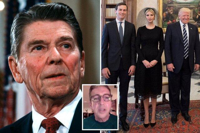 پسر ریگان: یک مشت کلاش و کلاهبردار در کاخ سفید داریم