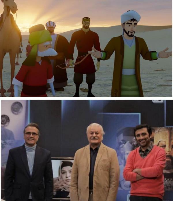 خبرنگاران خاطره بازی با سریال سرنخ و فراوری پویانمایی سفرهای سعدی