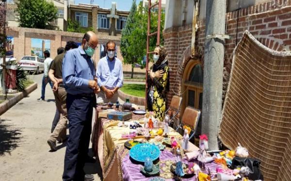 نمایشگاه صنایع دستی خوی به کار خود خاتمه داد