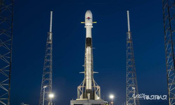 قرارگیری ماهواره نظامی کره ای در مدار زمین با یاری شرکت اسپیس ایکس