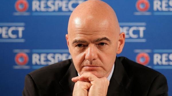 رئیس فیفا به ایران می آید
